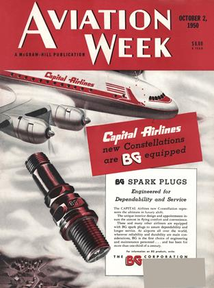 Cover for the October 2 1950 issue