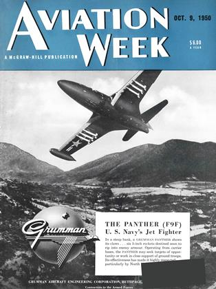 Cover for the October 9 1950 issue