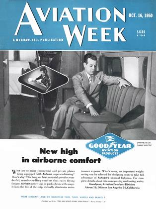 Cover for the October 16 1950 issue