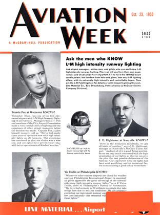 Cover for the October 23 1950 issue