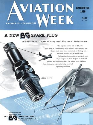 Cover for the October 30 1950 issue