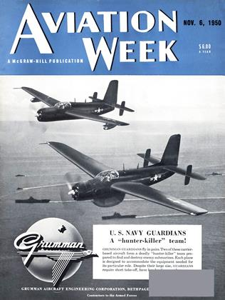 Cover for the November 6 1950 issue