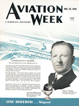 Cover for the November 20 1950 issue