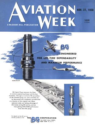 Cover for the November 27 1950 issue