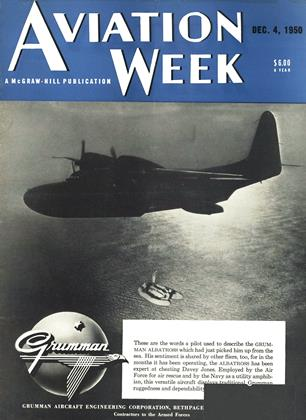 Cover for the December 4 1950 issue