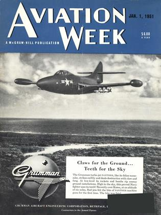 Cover for the January 1 1951 issue