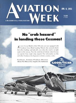 Cover for the January 8 1951 issue