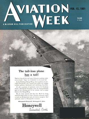 Cover for the February 12 1951 issue