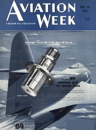 Cover for the February 19 1951 issue
