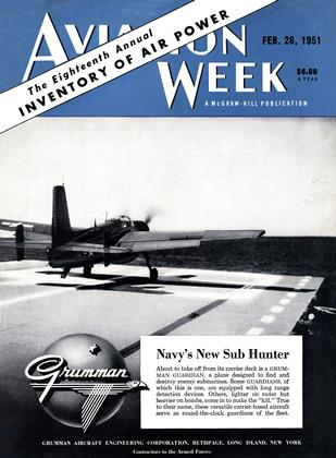 Cover for the February 26 1951 issue