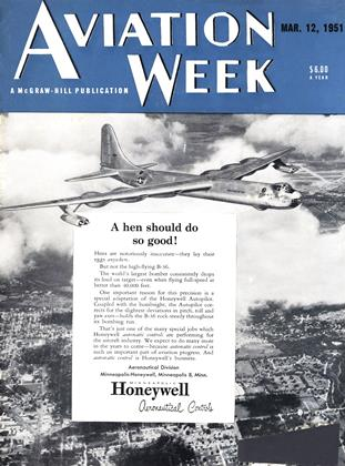 Cover for the March 12 1951 issue