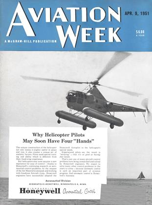 Cover for the April 9 1951 issue