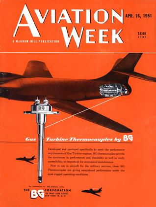 Cover for the April 16 1951 issue