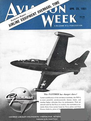 Cover for the April 23 1951 issue