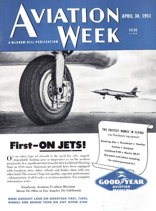 Cover for the April 30 1951 issue