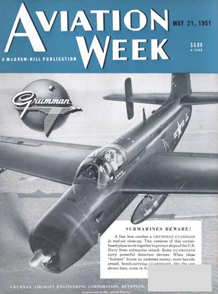 Cover for the May 21 1951 issue