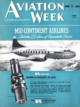 Cover for the June 11 1951 issue