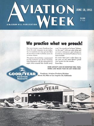 Cover for the June 18 1951 issue
