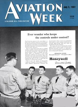 Cover for the July 2 1951 issue