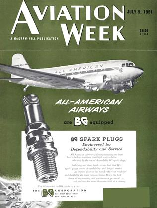 Cover for the July 9 1951 issue