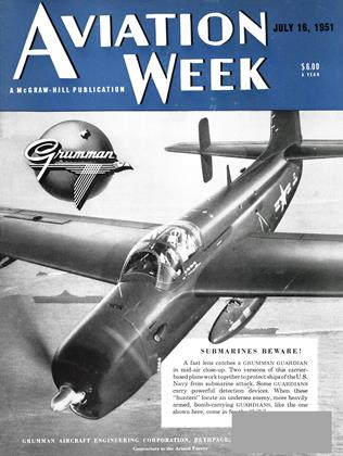 Cover for the July 16 1951 issue