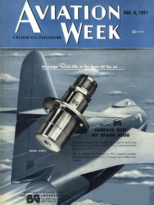 Cover for the August 6 1951 issue