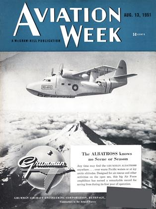 Cover for the August 13 1951 issue