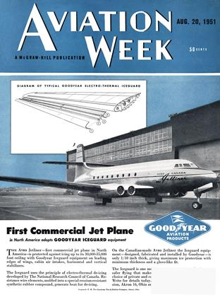 Cover for the August 20 1951 issue