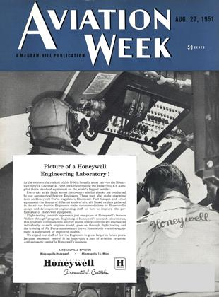 Cover for the August 27 1951 issue
