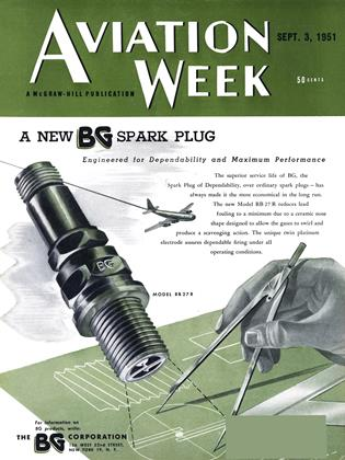 Cover for the September 3 1951 issue