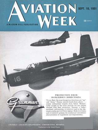 Cover for the September 10 1951 issue