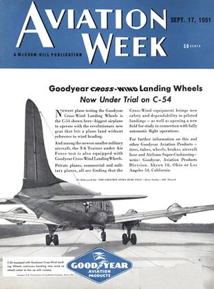 Cover for the September 17 1951 issue