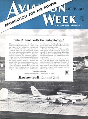 Cover for the SEPTEMBER 24 1951 issue