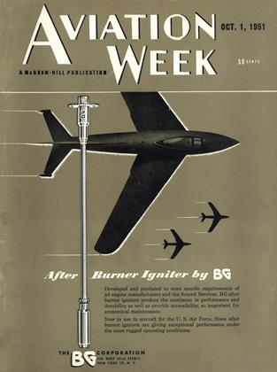 Cover for the October 1 1951 issue