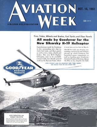 Cover for the October 15 1951 issue