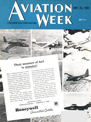 Cover for the October 22 1951 issue