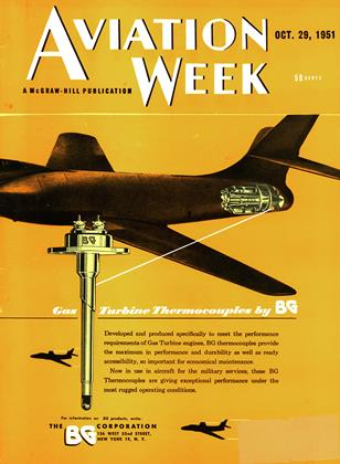 Cover for the October 29 1951 issue