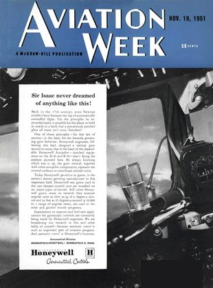 Cover for the November 19 1951 issue
