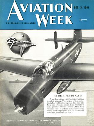 Cover for the December 3 1951 issue