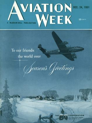 Cover for the December 24 1951 issue