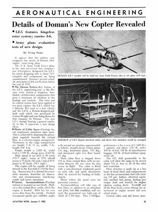 Details of Doman's New Copter Revealed, Page: 21 - JANUARY 7, 1952 | Aviation Week
