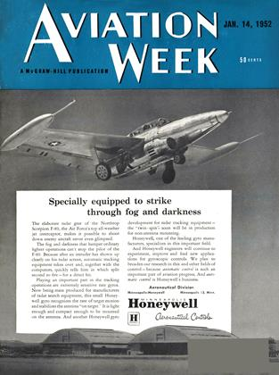 Cover for the January 14 1952 issue