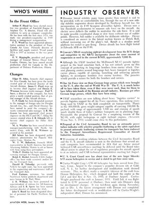 Industry Observer, Page: 11 - JAN. 14, 1952 | Aviation Week