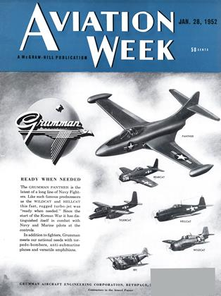 Cover for the January 28 1952 issue