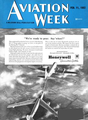 Cover for the February 11 1952 issue