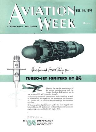 Cover for the February 18 1952 issue
