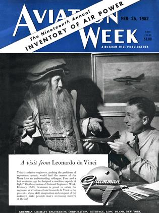Cover for the February 25 1952 issue