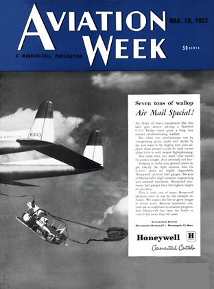 Cover for the March 10 1952 issue