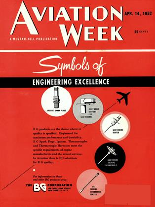Cover for the April 14 1952 issue