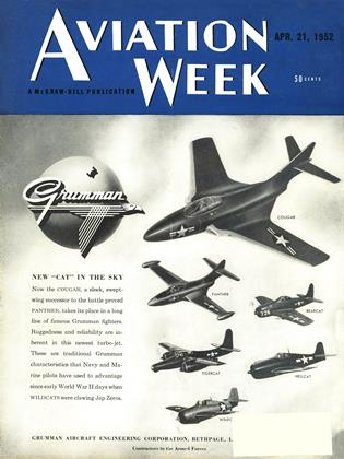 Cover for the April 21 1952 issue